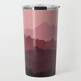 Love Mountain Range Travel Mug