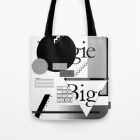 biggie Tote Bags featuring Biggie by Mykola Dosenko