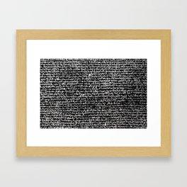 Rosetta Stone Framed Art Print