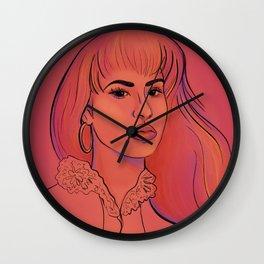 Selena Sunset Wall Clock