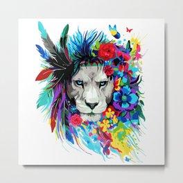 ART--LION Metal Print
