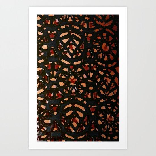 It's a pattern Art Print