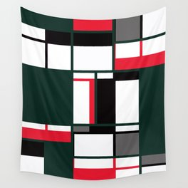 Strict geometry 2 Wall Tapestry
