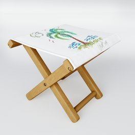 """Beach Afternoon"" Folding Stool"
