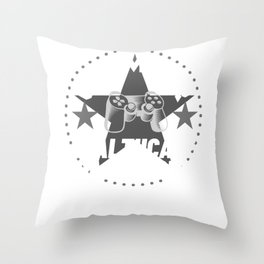healthcare-practitioner Gamer Gift Throw Pillow