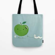 Apple's pet Tote Bag