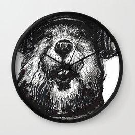 Mr. Beaver Wall Clock