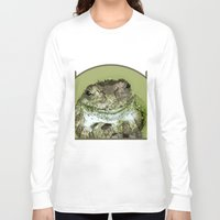 frog Long Sleeve T-shirts featuring Frog by Kathleen Stephens