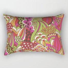 Paisly Pop Tangle #4 Rectangular Pillow