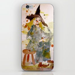 A Witch called Zee iPhone Skin