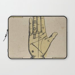 Vintage French Sun Tarot Card Laptop Sleeve