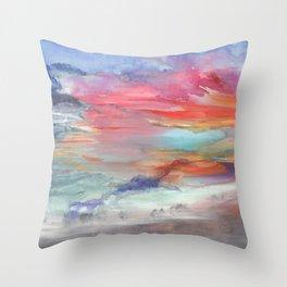 Stormcoming Throw Pillow