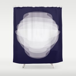 SHADES OF KOREAN POTTERY Shower Curtain
