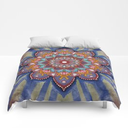 Cirque Mandala Comforters