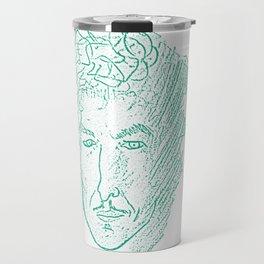 Bob Dylan - Sketchy Raconteur Travel Mug