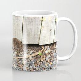 Hedgehog By The Fence Coffee Mug