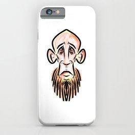 Zombie Hipster iPhone Case