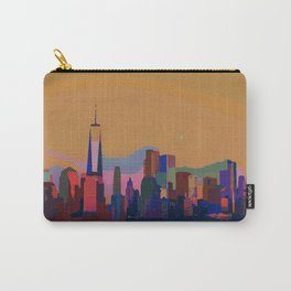 Skyline New York City Carry-All Pouch