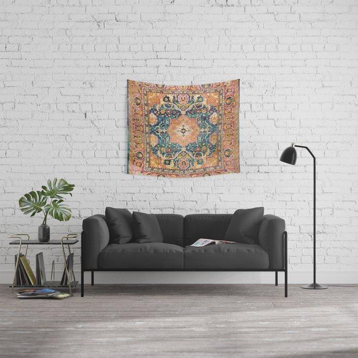 Amritsar Punjab North Indian Rug Print Wall Tapestry