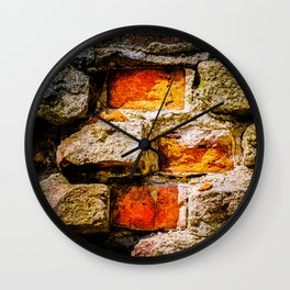 Bricks And Mortar Wall Clock