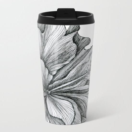 flor Metal Travel Mug