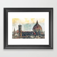 Florence - Cattedrale di Santa Maria del Fiore Framed Art Print