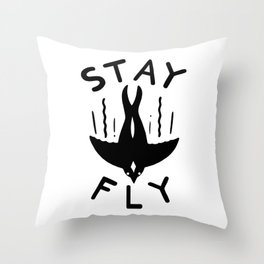 ST\Y FLY Throw Pillow