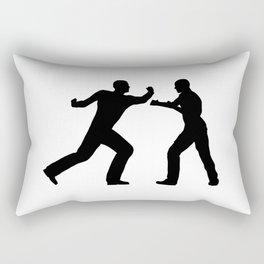 Fight Scene Rectangular Pillow