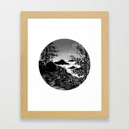Clouds (Backpacking San Jacinto PCT) - Inktober 2017 Framed Art Print