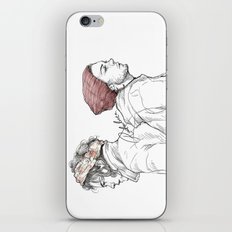 Rose and Dagger iPhone & iPod Skin