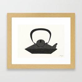 Iron Kettle Framed Art Print