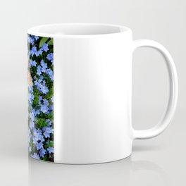 Blue, Orange, and Green Coffee Mug