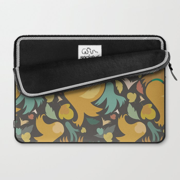 The powerful and yelow spring is coming Laptop Sleeve