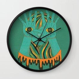 eyes of gypsy  Wall Clock