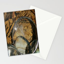 Magnifying Glass and Smoke Stationery Cards