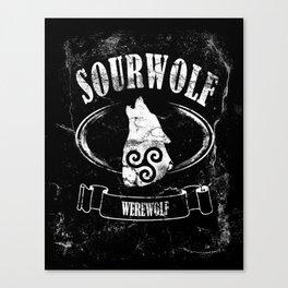 Sourwolf Canvas Print
