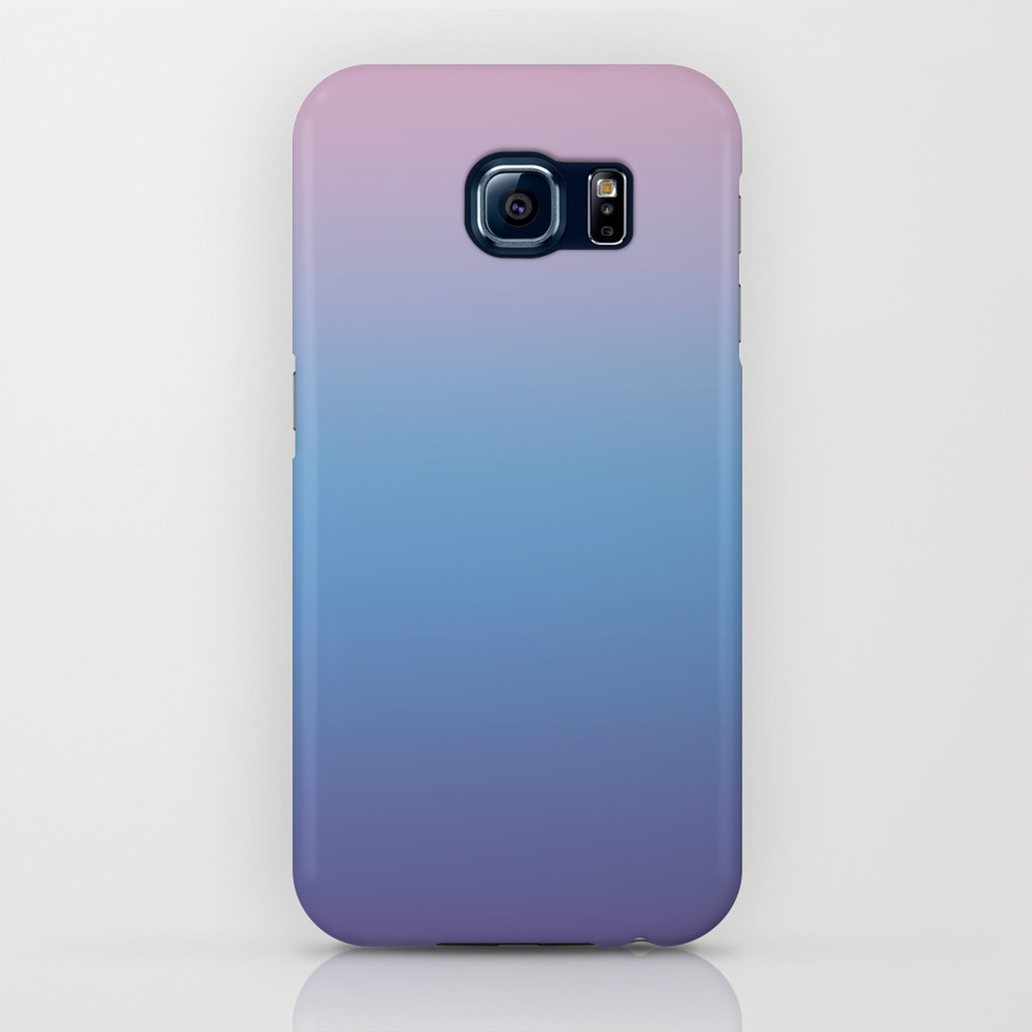 factory price 4961b 2a9bf Ombre Pink Blue Ultra Violet Gradient Pattern iPhone Case