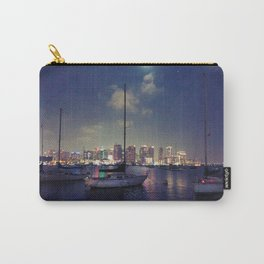 San Diego by Night - Oil Carry-All Pouch