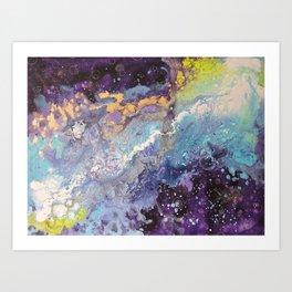 """""""Light's Travel"""" Art Print"""
