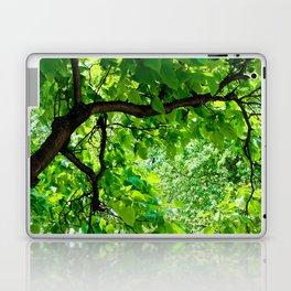 Peek into the Summer Trees Laptop & iPad Skin