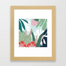 Aqua Paradise Framed Art Print