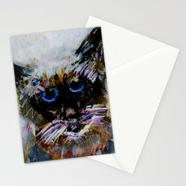 Old Cat Stationery Cards