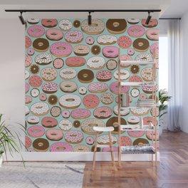 Donut Wonderland Wall Mural