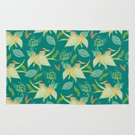 KINGFISHERS PARTY Rug