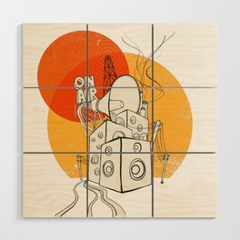 Radio Satla Wood Wall Art