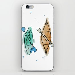 Kayaks iPhone Skin