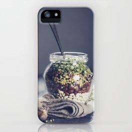 Lentils iPhone Case