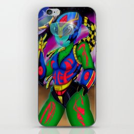 Alien Wear iPhone Skin