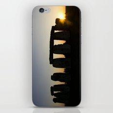 Stonehenge at Sunset iPhone & iPod Skin