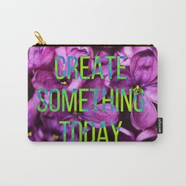neon lilac blossom love Carry-All Pouch
